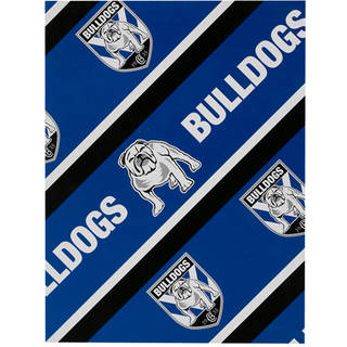 Bulldogs Wrapping Paper