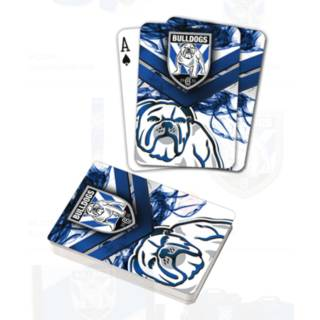 Bulldogs Playing Cards